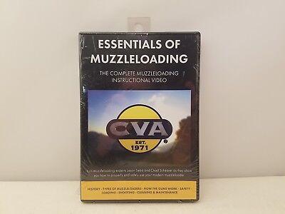 CVA Essentials of Muzzleloading Instructional DVD w/ J Sebo & C Schearer  MC4017