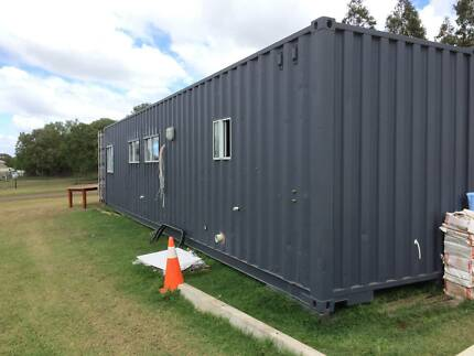 Container home, relocatable, donga, house, sleep out, work shop
