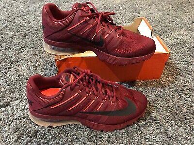 7352b8cadf Nike Air Max 270 360 Excellerate 4 run running shoes team red orange maroon  11.5