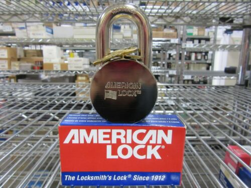 "American Master Lock AH10KA Heavy Duty Pad Lock 2"" Wide Keyed Alike NEW!! in Box"