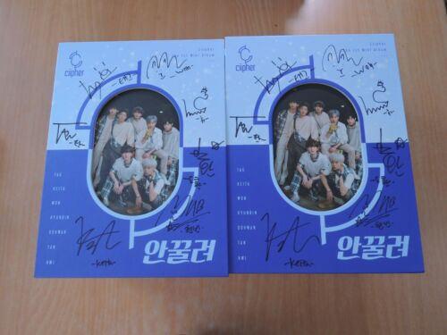 CIIPHER - 안꿀려 (1st Mini Promo) with Autographed (Signed)