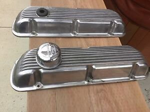 Small block ford aluminum valve covers