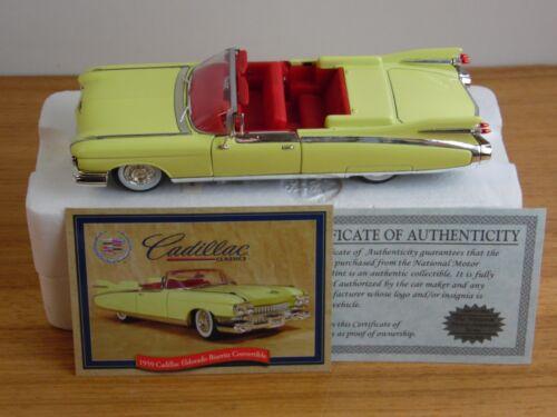 nation museum mint 1959 Cadillac Eldorado Biarritz convertible die cast car 1:32