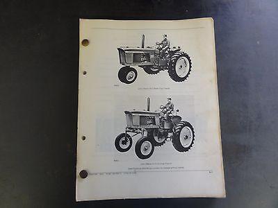 John Deere 2510 Tractor Parts Catalog  Pc-957