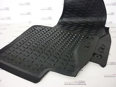Audi Gummifussmatten Q7 4L vorn Gummimatten Gummi Fußmatten Matten