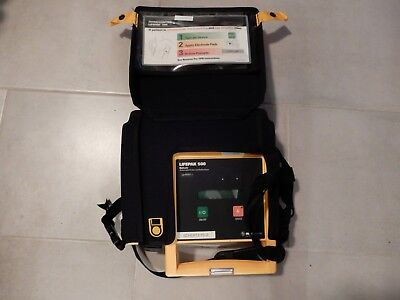 Physio Control Lifepak 500 W Case