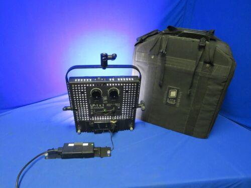 Litepanels LP-1x1 Bi-Color 3200K<>5600K Flood Light w/Power Supply and Case