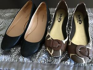 Coach and Anne Taylor flats