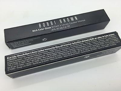1pc Bobbi Brown Rich Color Lip Gloss Tutu 1 Brand NEW in Box .24 oz Each