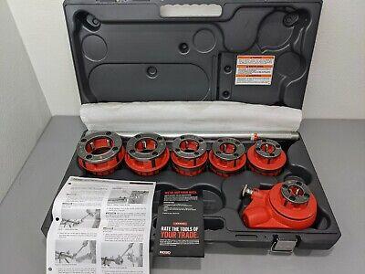 Ridgid 36475 Manual Pipe Threader12 To 2 Capacity