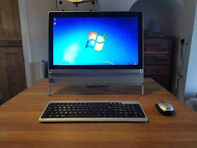 Acer Aspire Z3801 all in one touchscreen PC computer desktop Freeview i5 4GB 1TB