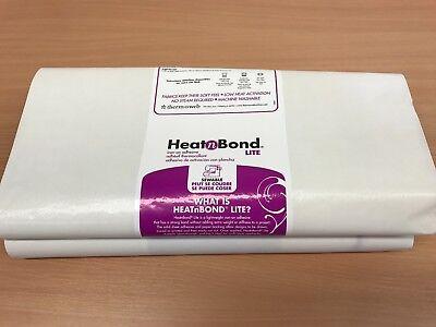 Heat and Bond Lite For Applique, Bonding Fabrics, 3 metre roll