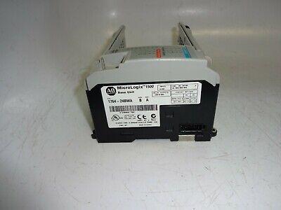 Allen-bradley 1764-24bwa 39w 120vac Power 12 Relay Inputsoutputs Base Unit