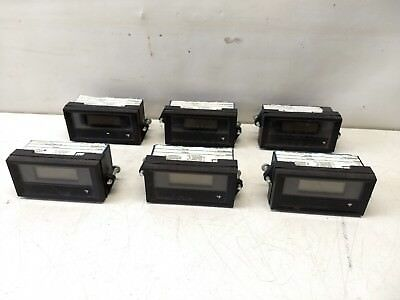 6 Pcs Lot Jewell Modutec 2013-3019-00 Digital Process Meter