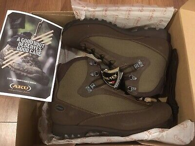 British Army SF Issue AKU Pilgrim Goretex Combat Liability Boots New 9M