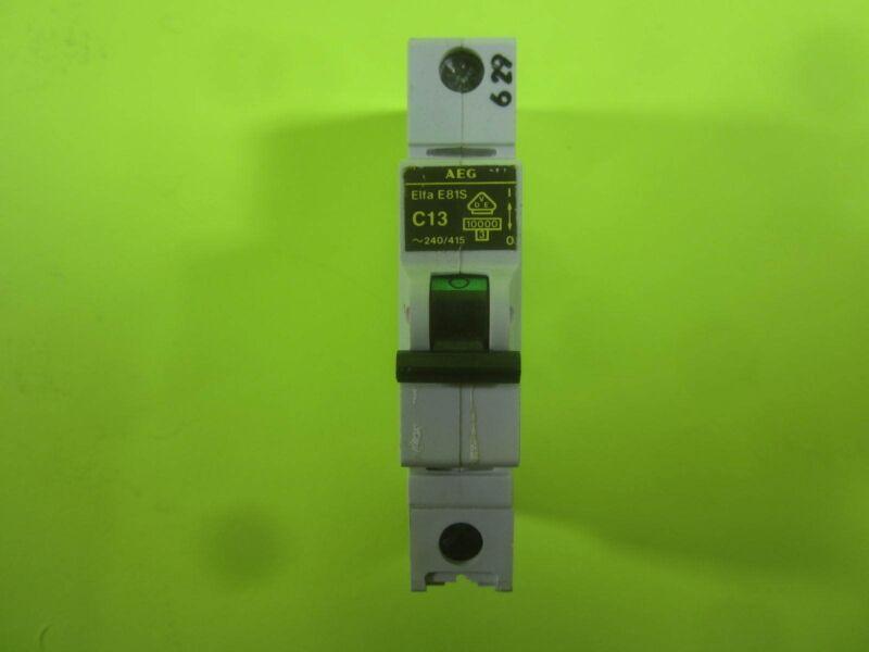 AEG Elfa Circuit Breaker -- E81S C2 -- Used