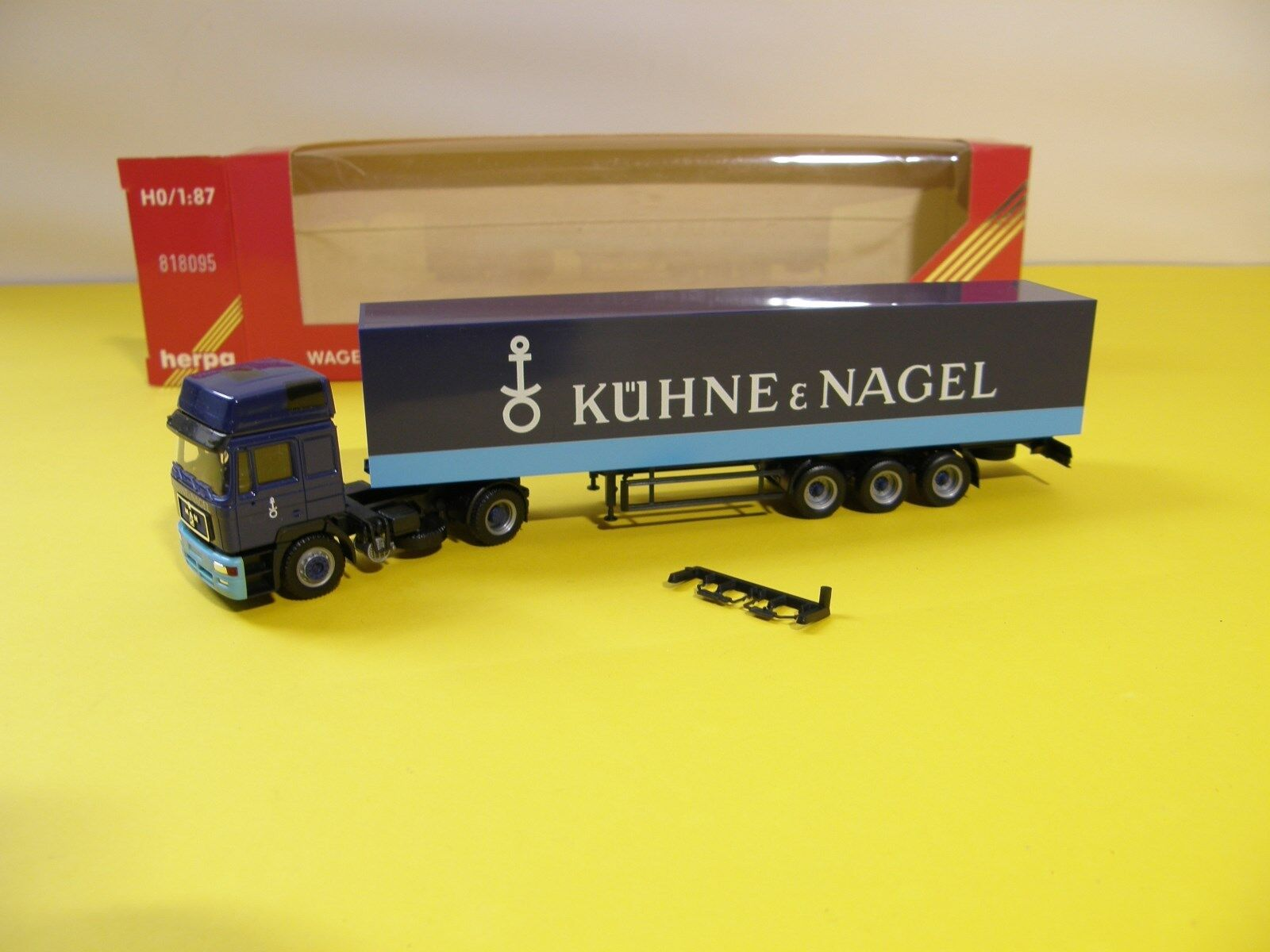 Kühne + Nagel - Kuehne + Nagel MAN SZ herpa Bielefeld Bremen herpa