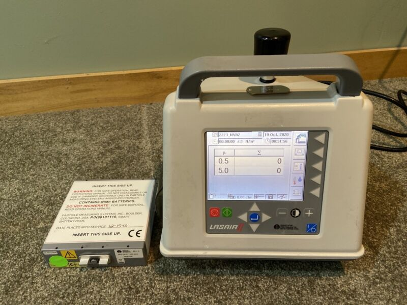 Lasair II Particle Measuring Systems 510Ab Portable Particle Counter EXCELLENT!
