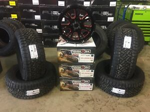 """Dodge Ram 1500 20"""" Vision Fury Alloy Rim & Tire Package!!!"""