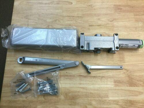 LCN 4011 Door Closer, Left Hand Aluminum Finish, Reg Arm, Plastic Cover