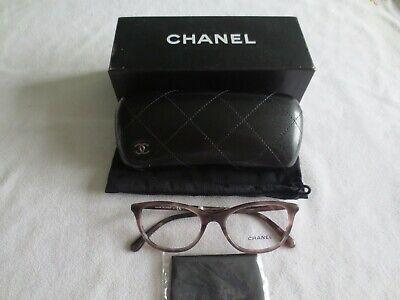 Chanel pink tortoiseshell cat's eye glasses frames. 3377-H 1641. New. (Chanel Eye Frames)
