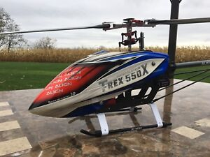 Helicopter rc Align Trex Dominator 550 X