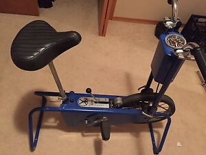 Antique exercise bike. Sears