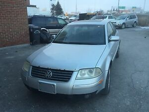 2003 Volkswagen Passat GLX, V6 2.8L (For Parts Only)