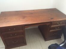 Wooden desk Burwood Heights Burwood Area Preview