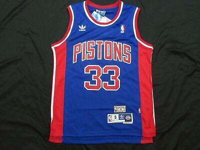New Grant Hill #33 Detroit Pistons Retro HWC Vintage Swingman 90's Jersey Vintage Detroit Pistons