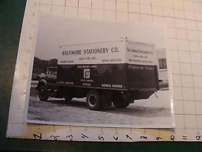 vintage Mid Century Office photo: Baltimore Stationery company: photo #20 TRUCK