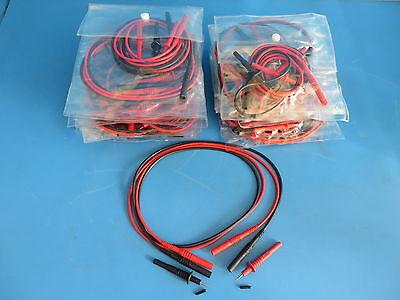 Mueller Bu-26101-02 Plug-on Test Probe Tips 1000v 20a W Cables -lot Of 20 Sets