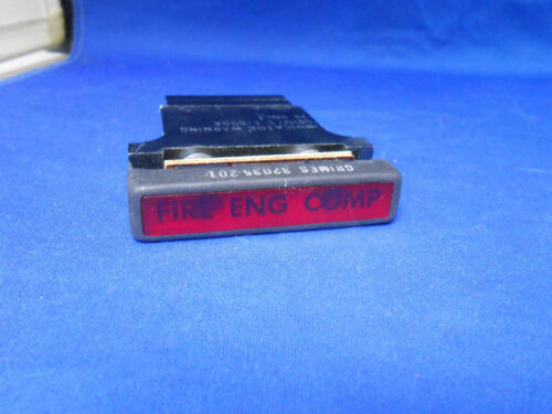 41690A  GRIMES RED WARNING LIGHT INDICATOR  28V   NEW OLD STOCK