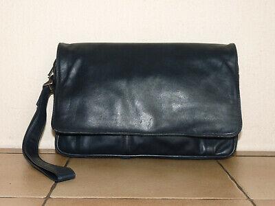 Enny Tasche, Tragetasche, Handgelenktasche, Echtleder, Vintage, gut erhalten online kaufen