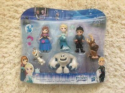 Disney Frozen Little Kingdom Friendship Collection 6 Figure Set Hasbro toys elsa