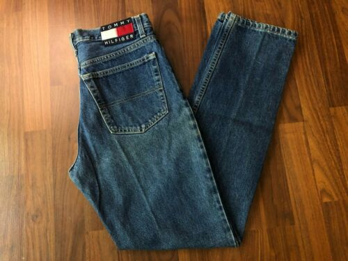 """Vintage USA-Made Tommy Hilfiger High Waisted Jeans - Size 9/32  (29"""" x 32"""")"""