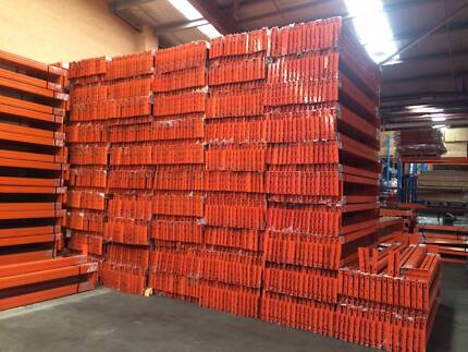 NEW - 2600mm PALLET RACKING BEAMS 2300KG PER LEVEL! AS4084-2012
