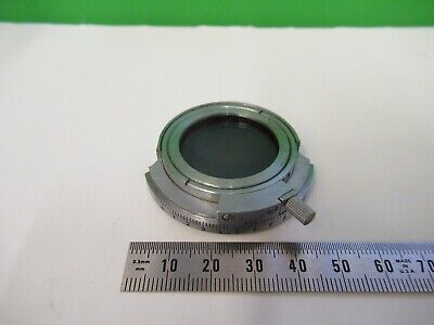 Carl Zeiss Germany Pol Polarizer Microscope Part Optics As Pictured 15-a-14