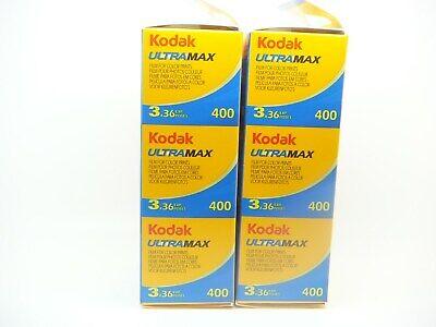 6 x KODAK ULTRAMAX 400 35mm 36exp CHEAP COLOUR FILM BY 1st CLASS ROYAL MAIL