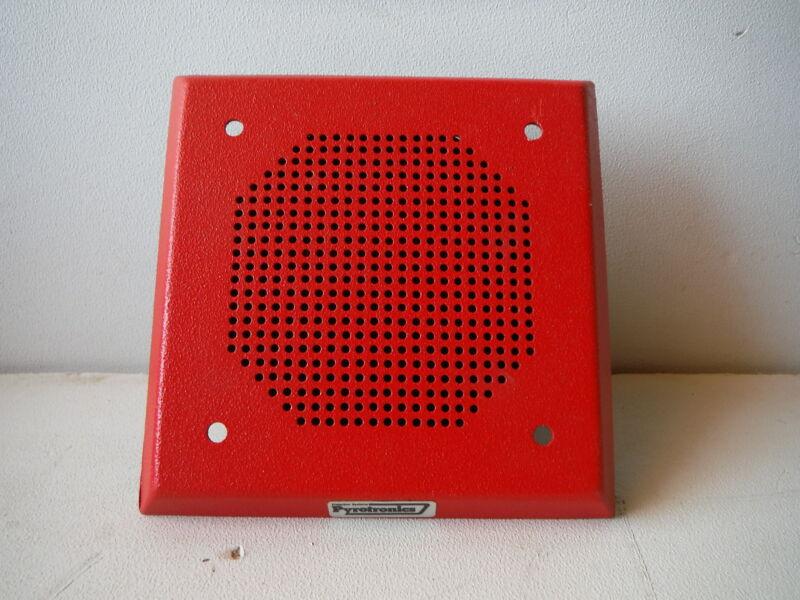 Pyrotronics Fire Alarm Speaker Wall Mount ESW-24