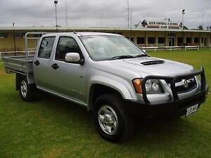 Holden Colorado Dual Cab chassis (steel Tray, 4x4 Diesel) Keith Tatiara Area Preview