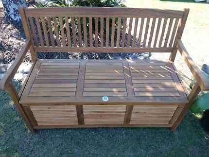 Timber Storage Bench Seat - new. Wavell Heights Brisbane North East Preview