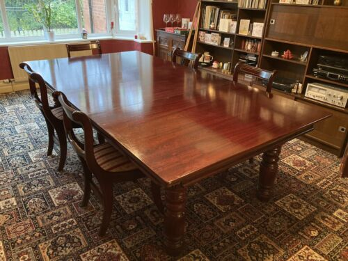 Dining table/rise and fall snooker table 8 x 4