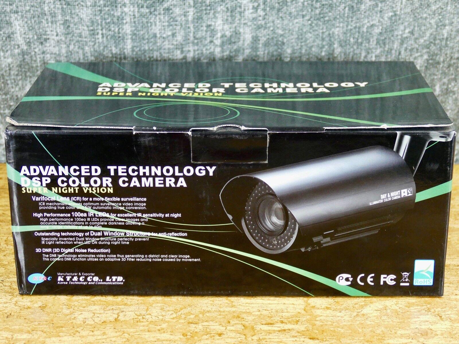 KT&C KPC-N850NHF Advanced Technology DSP Color Camera, Super