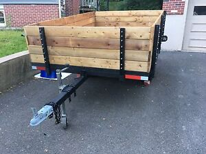 All redone 6 x 9 utility trailer  LT tires