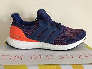 Ultra Boost 3.0 Mystery Mystic Ink Solar Orange US7.5, US8 & US9 Hoppers Crossing Wyndham Area Preview