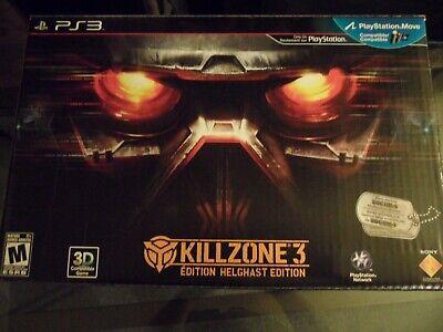 Killzone 3 Helghast Edition PS3 New Helmet and Figure Open Box DLC  UNUSED segunda mano  Embacar hacia Argentina