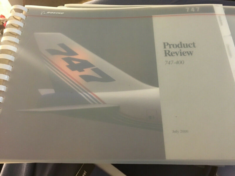 Boeing 777 767 757 747 airplane sales brochures commercial jets aviation