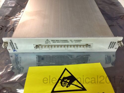 NI National Instruments SCXI-1125 8-ch Programmable Isolation Amplifier Module