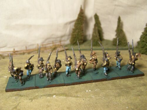 Confederate Infantry (E), ACW, 15mm